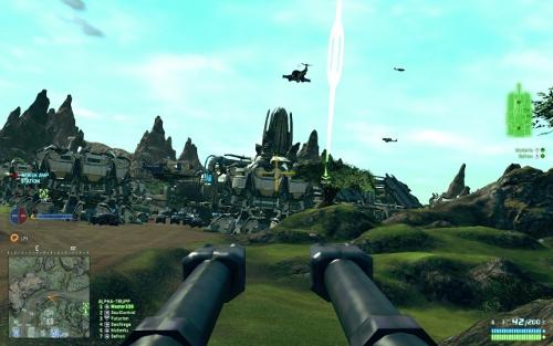 Screenshot von Planetside 2