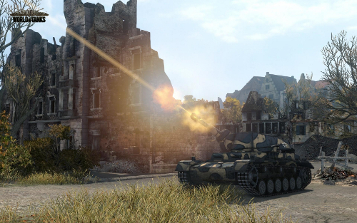 Screenshot vom World of Tanks Update 8.6 #1