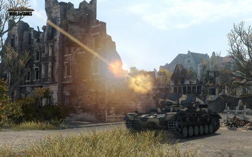 Link: Zum Testbericht von World of Tanks