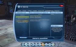DC Universe™ Online Screenshot - Übersicht Solo- und Gruppeninstanzen, PvP Optionen