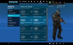 Ghost Recon Online Screenshot - Profil / Freischaltbare Medaillen