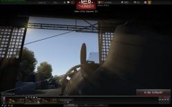 War Thunder Screenshot - Hangar mit schöner Aussicht :-)