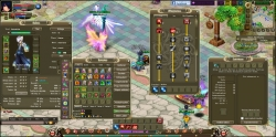 Crystal Saga Gameplay-Screenshot #1