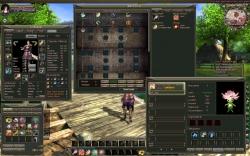 Loong Dragonblood Screenshot: Verschiedene Optionen und Menüfenster