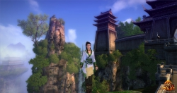 Age of Wulin Screenshot: Atemberaubende, grafisch schön gestaltete Umgebung